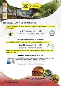 affiche SIDACTION ETOILE DE GONDEAU MPT Gondeau Planning