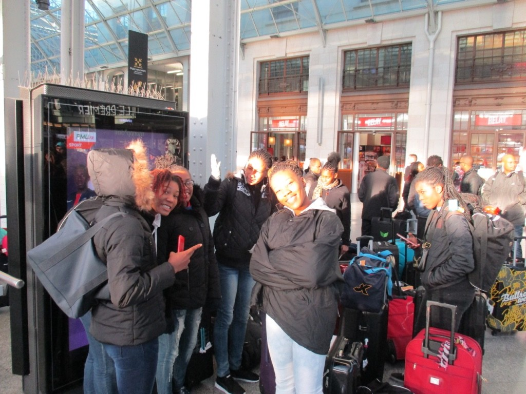 Départ à la Gare de Lyon 29/01/16