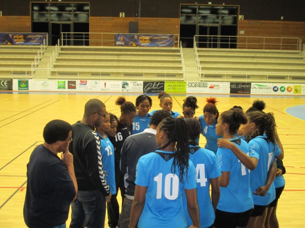 Briefing avant le match Pôle Antilles - Clermont