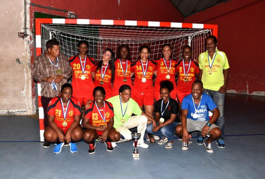 L'Aiglon du Lamentin Vainqueur Equipes 2 féminines 2015-2016