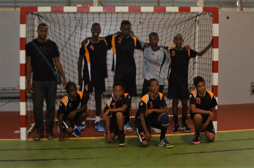 U14 Citron Vainqueur Coupe de la Martinique