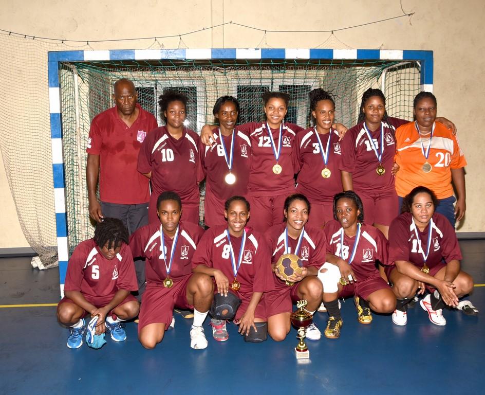 Sporting Club Lamentinois Champion d'Excellence Féminin 2015-2016