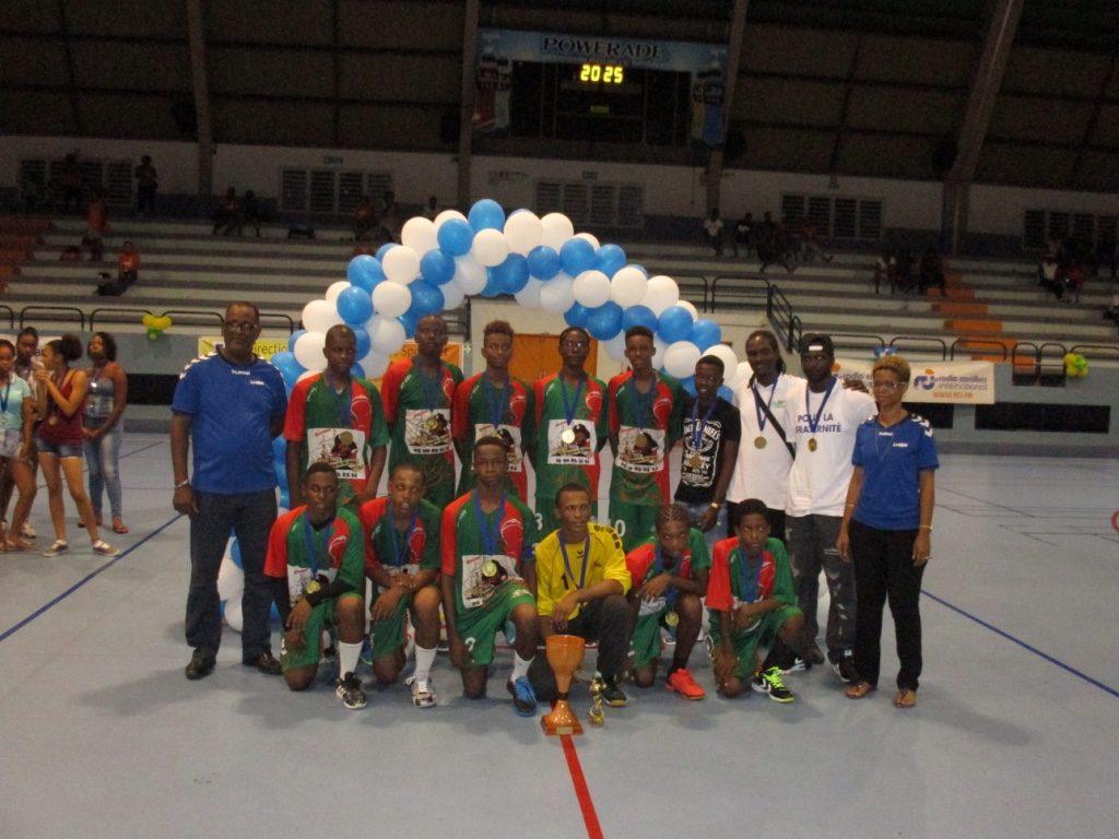 Club Sport de St François Champion Antilles U16 G