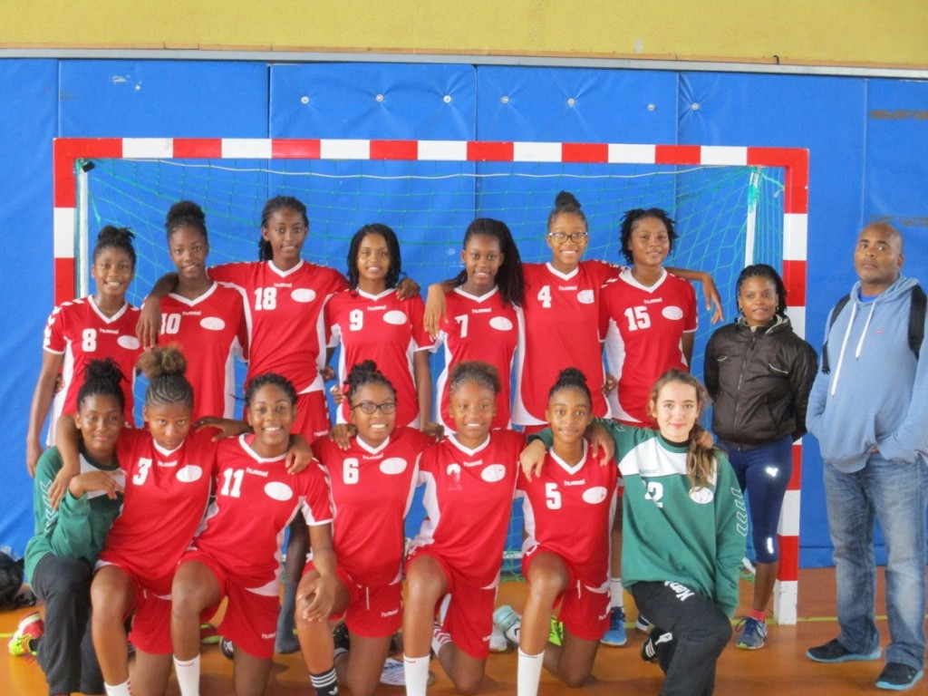 L\'équipe Interlignes Antilles-Guyane Filles