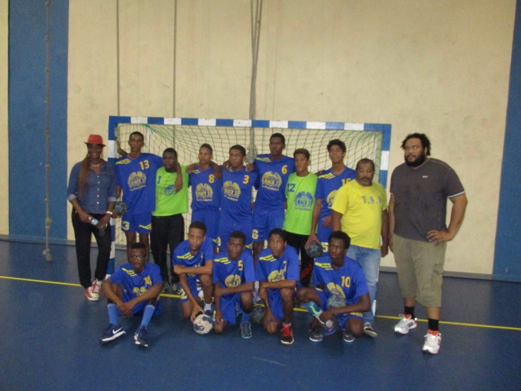TS Franciscain Vice Champion Antilles U16 G
