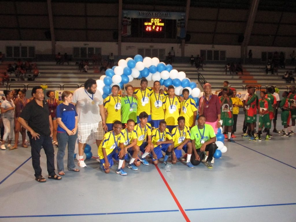 TS Franciscain Vice Champion Antilles U16 G