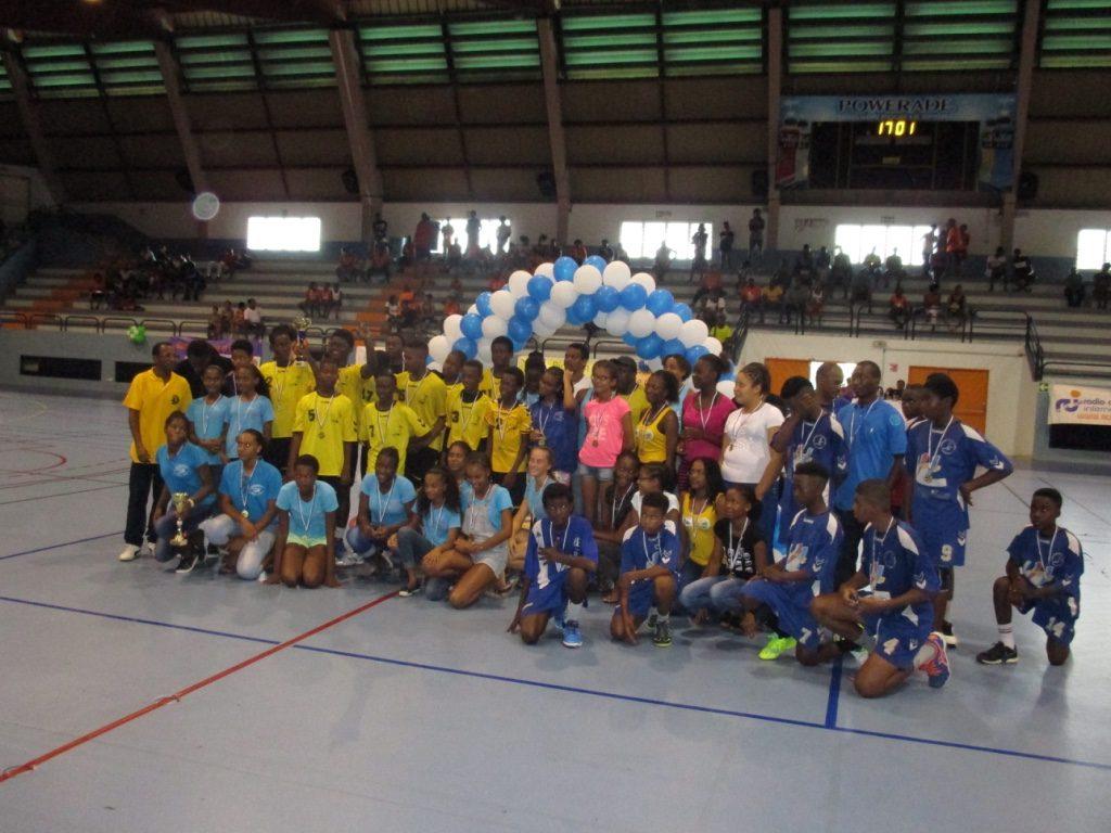 Champions et Vice Champions Antilles U14