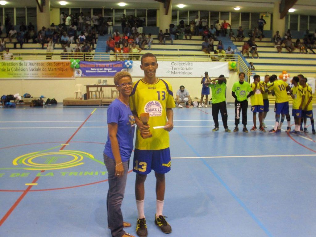 DUNON Sullyvan meilleur joueur finale U16G