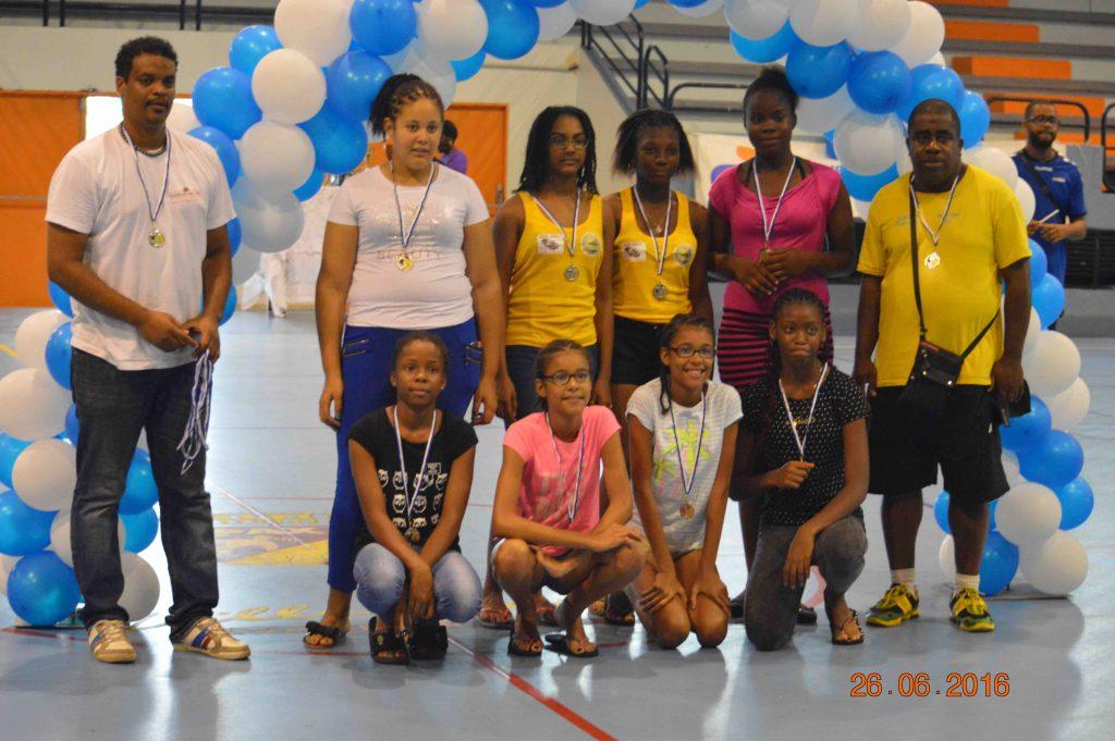 Le Réveil Sportif Vice Champion Antilles U14