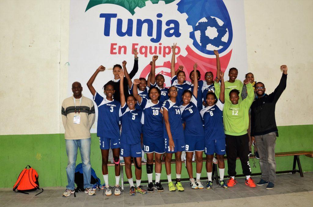 La Martinique vainqueur de la phase continentale de l'IHF trophy