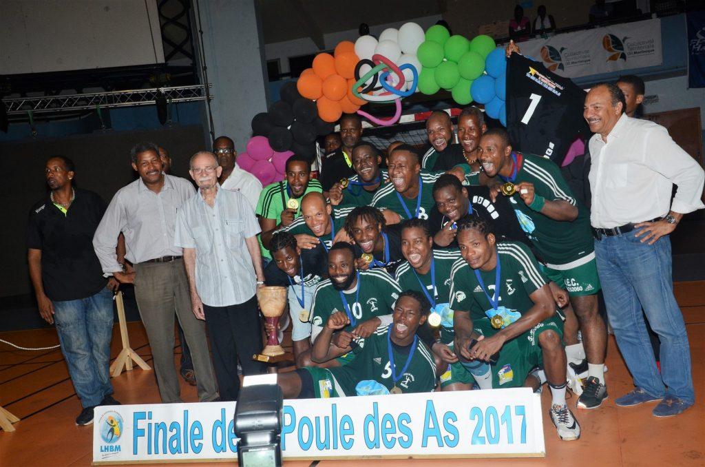 L'Etoile de Gondeau Champion de Martinique de Prénationale masculin 2017
