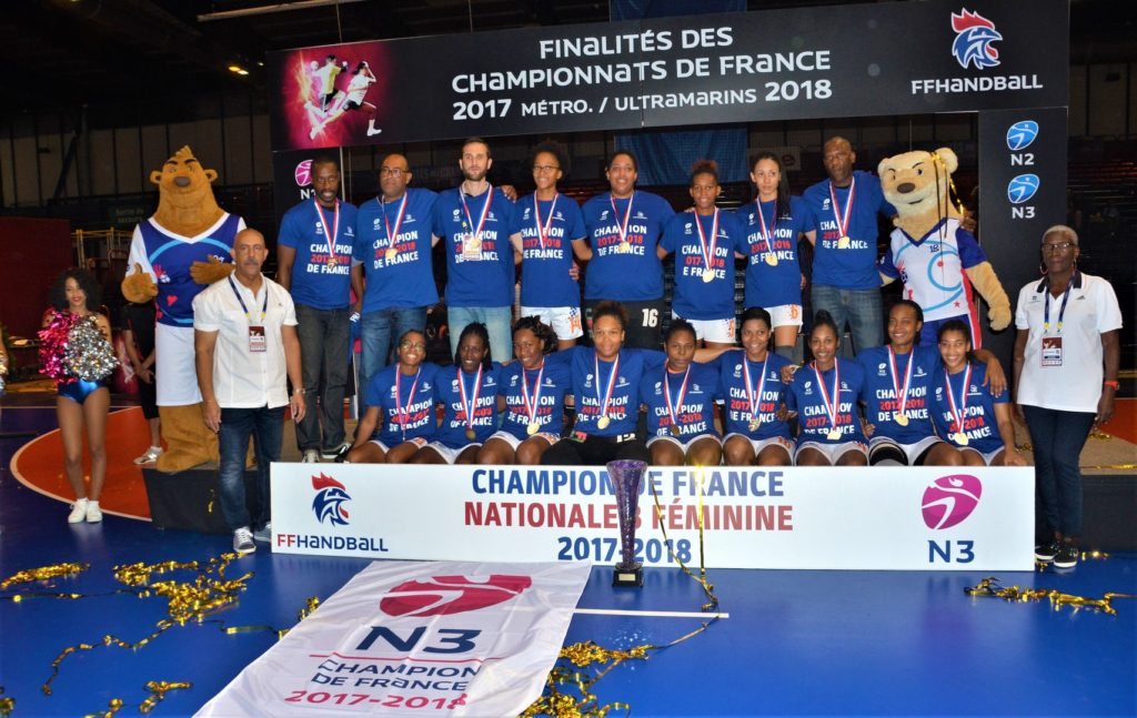 Arsenal du Robert Champion de Nationale 3 - 2018