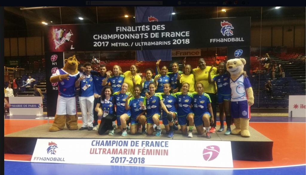 HBF St Denis de la Réunion vice champion N2 et Champion ultramarin 2018