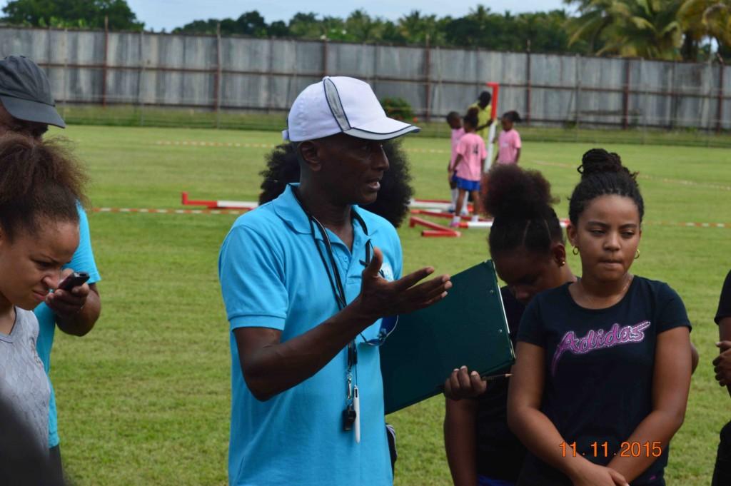 Emile CATAN formateur en arbitrage de la zone Antilles Guyane