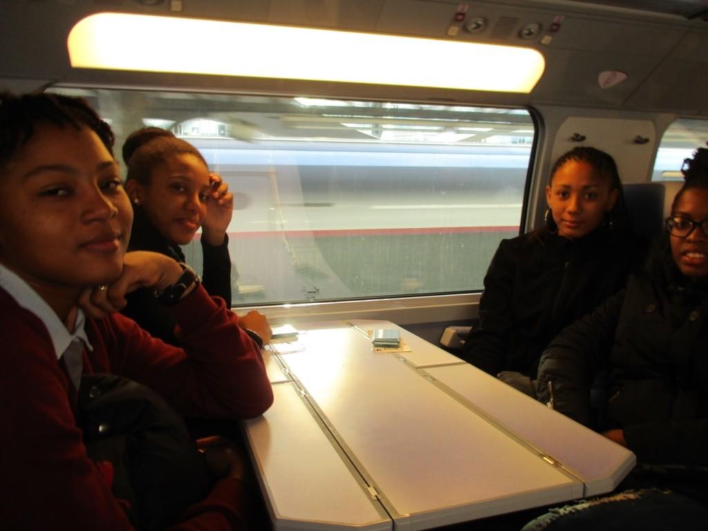 Dans le TGV Paris-Valence 29/01/16