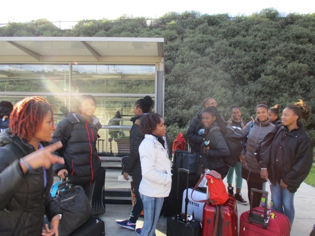 Attente du TGV en gare de Valence