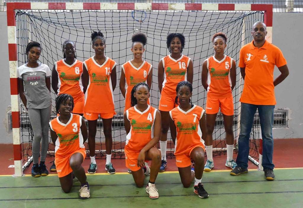 U14 Arsenal du Robert Vainqueur Coupe de la Martinique