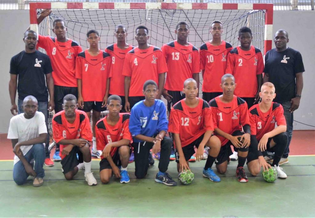 U16 Club Sport de St Joseph Finaliste Coupe de la Martinique