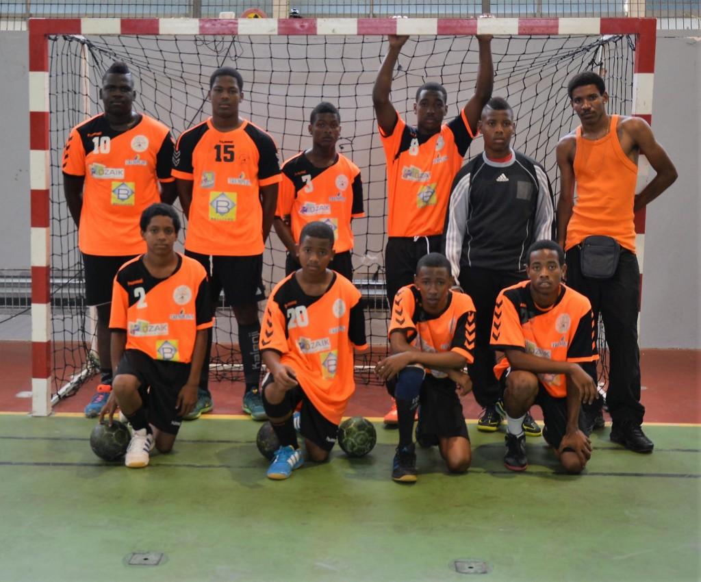 U16 USC Citron Vainqueur Coupe de la Martinique