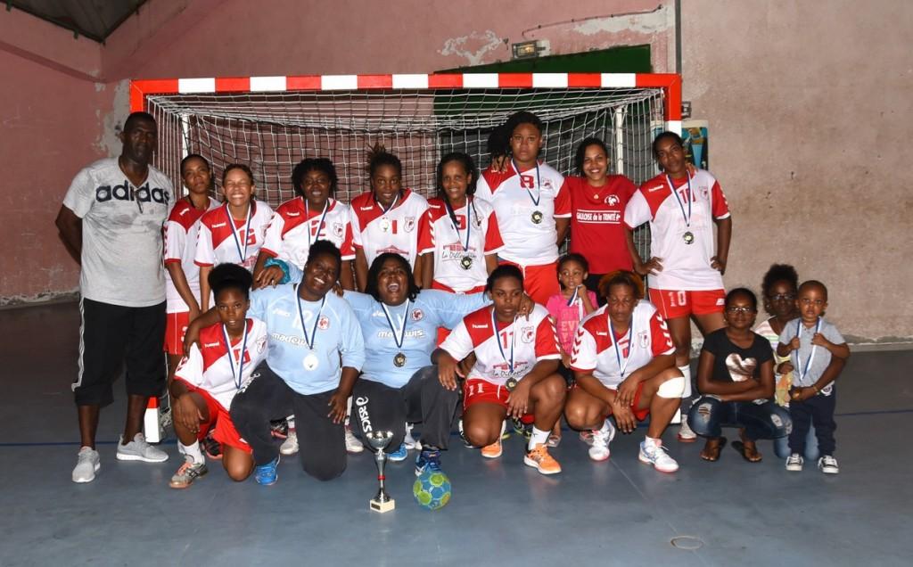 La Gauloise de Trinité Finaliste Equipes 2 féminines 2015-2016