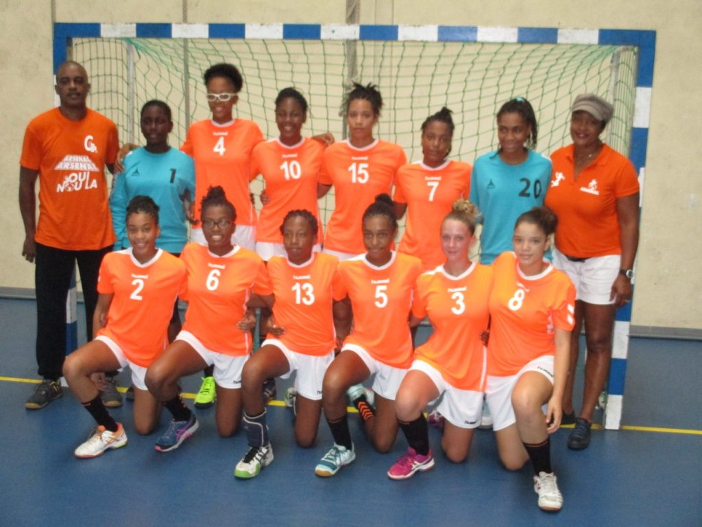 Arsenal Du Robert Champion Antilles U16 F