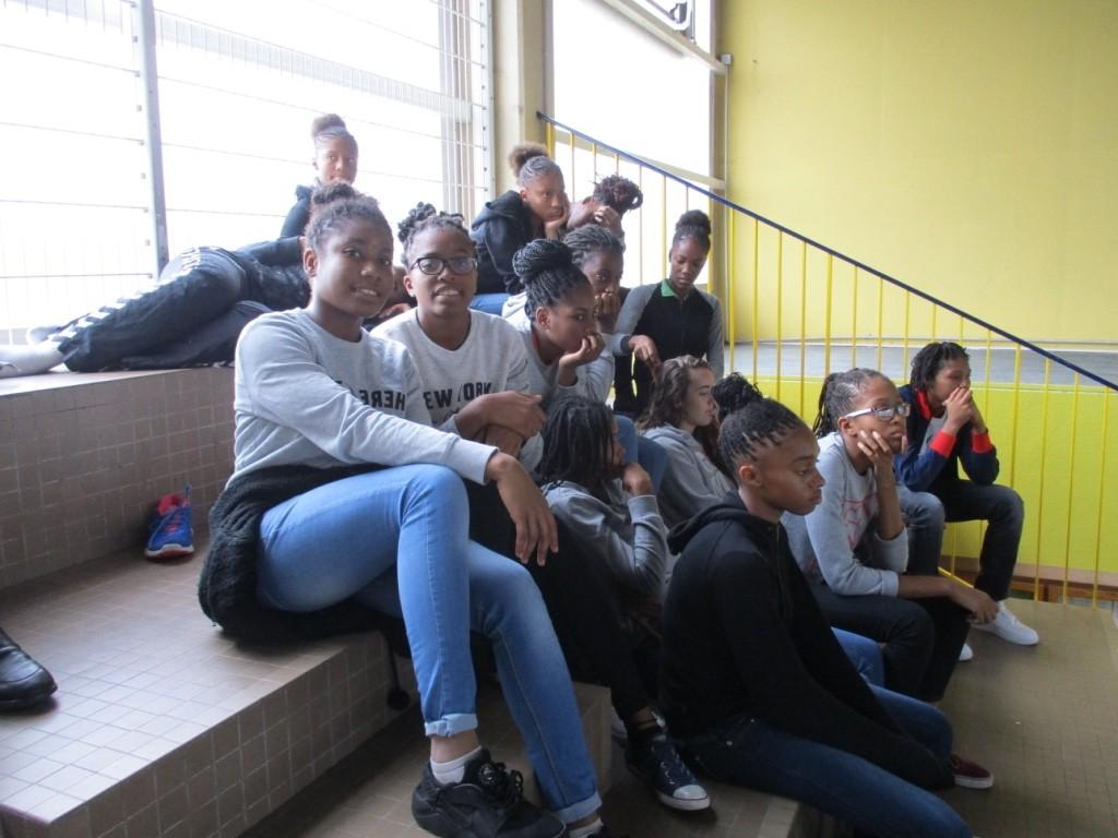 Les Filles au Gymnase de Bonneuil