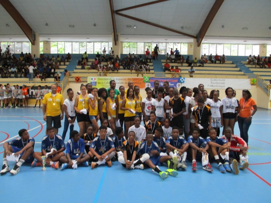 Les champions et vice-champions U14