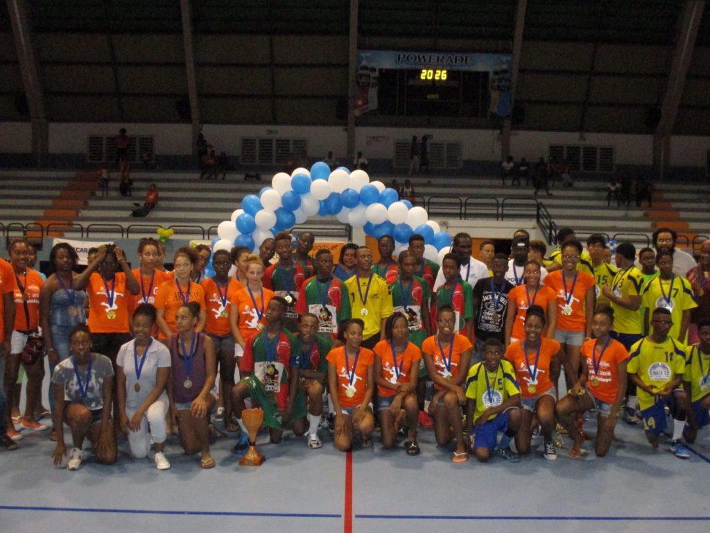 Champions et Vice Champions Antilles U16