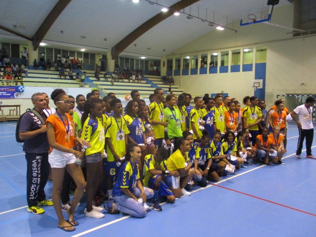 Les champions et vice champions U16