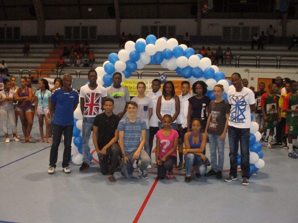 Equipe des Jeunes Arbitres et leurs encadrants