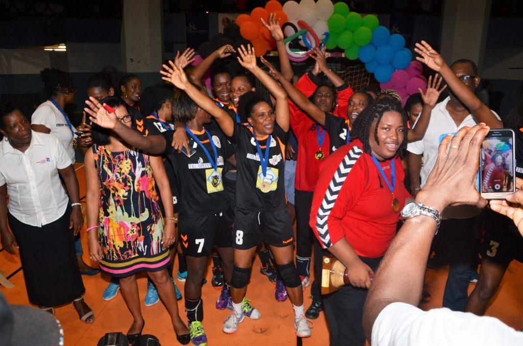 L'USC Citron Champion de Martinique de Prénationale féminin 2017