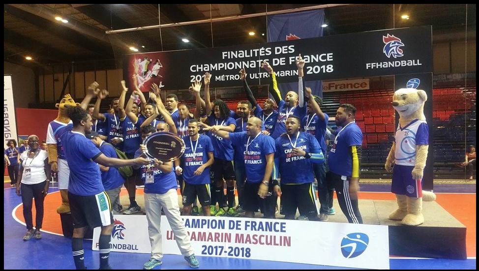 Case Cressonière (Réunion) - Champion ultramarin et Vice-champion de N2 - 2018
