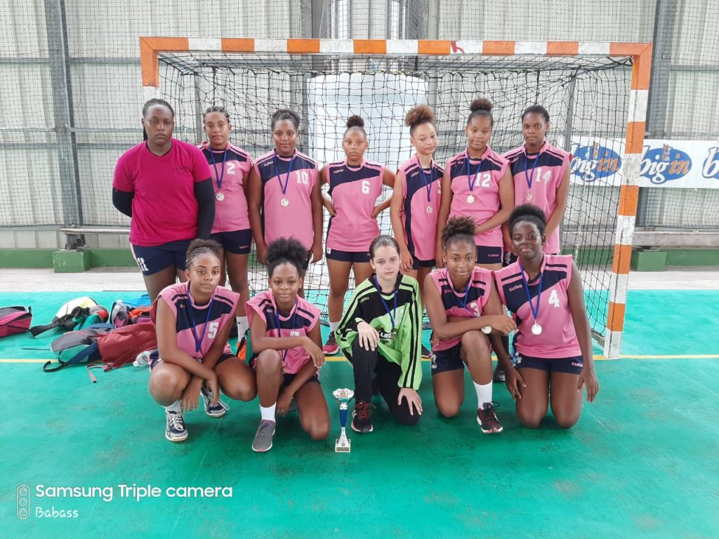 Entente Carrefour Tivoli/UJ redoute / USC Citron : Vice Champion 2019 - U14 Filles